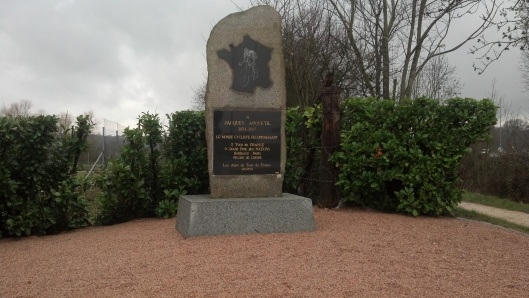 Anquetil Monument