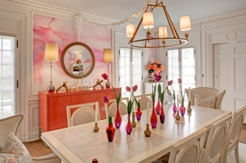 Custom Wall Treatment, BSO Decorator Show House, Simply Put Interiors