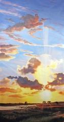 """Sunrise"" Custom Art"