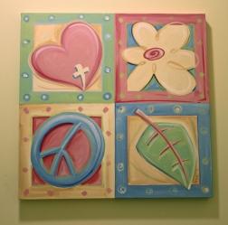 Custom Art for Girl's Room