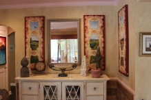 Lenehan Studios, decorative painting, faux painting, murals, trompe l'oeil, ceiling mural, children's mural, wall art, custom art, faux, Baltimore, Ellicott city, woodgraining, marbling, plaster, painting, artist, local, Dee Lenehan, cabinetry painting, furniture painting