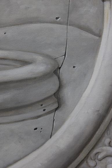 Trompe L'oeil Stone Plaque