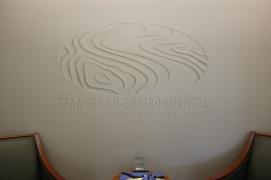 Trompe L'oeil Logo, Straughan Environmental
