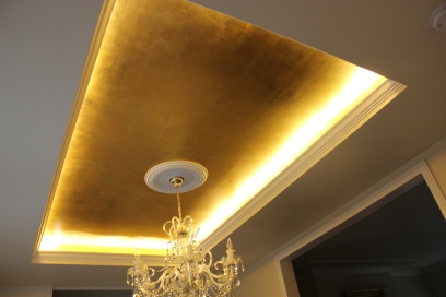 Antique Gilded Ceiling
