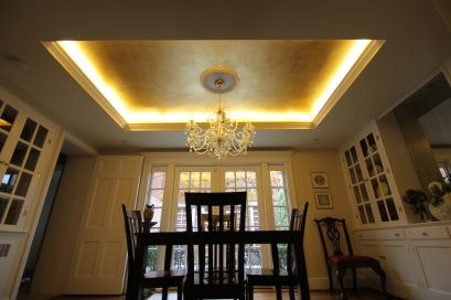 Antique Gilded Ceiling