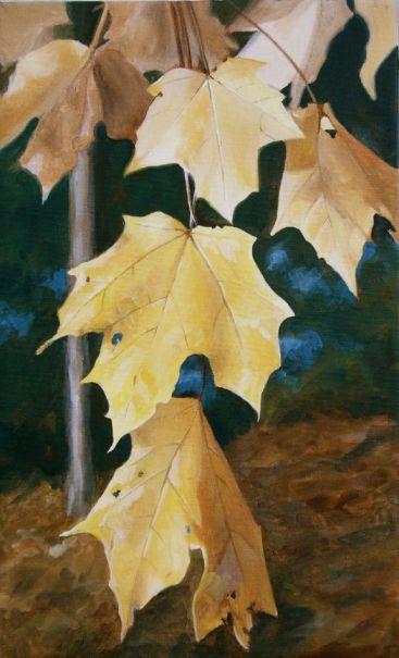 """Fall Leaves"" Custom Art"