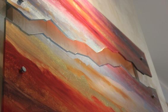 Custom Glass Art Piece - Custom Art Installation