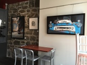 Fine Art Installation in Restaurant