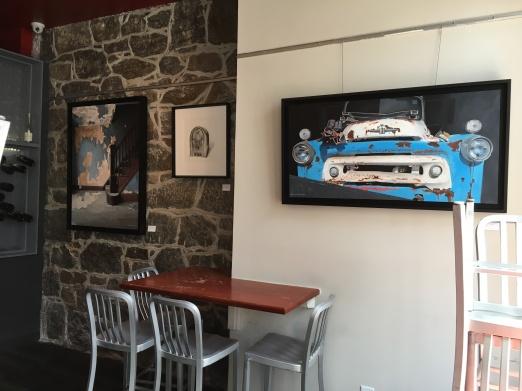 Fine Art Installation in Restaurant