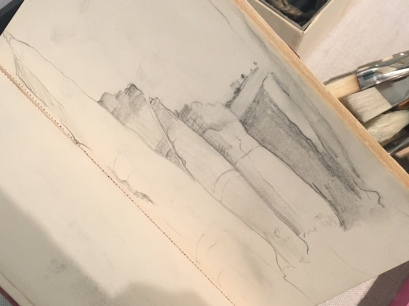 Sketch of The White Place