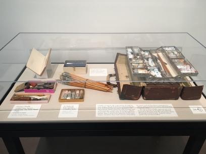 O'Keeffe's tools on display