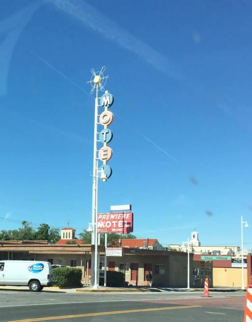 On Rt 66 through Albuquerque