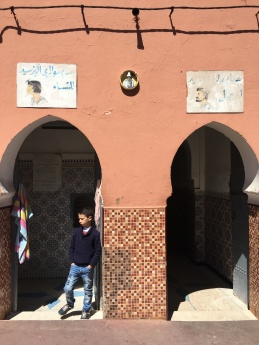 Traditional neighborhood hammam